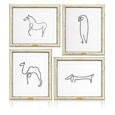 Bestofpicture.com - Images: Picasso Animal Sketch