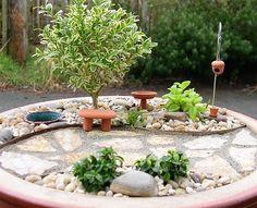 Mini gardens for skillful enthusiasts - idea