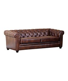 Cheap Sectional Sofas Take a look at this Chestnut Brown Royal Italian Leather Tanner Sofa today
