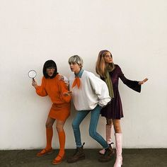 Image about girl in Loving thisMystery Gang Halloween costume! Image about girl in Loving thisMystery Gang Halloween costume! Halloween Outfits, Halloween Inspo, Halloween 2020, Halloween Parties, Halloween Desserts, Cool Couple Halloween Costumes, Clueless Halloween Costume, Halloween Nails, Halloween City