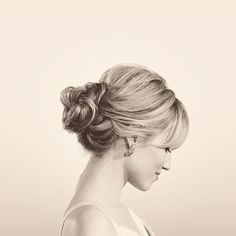 Chignon - something a little more messy?