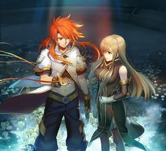 Luke fon Fabre - Tales of the Abyss - Zerochan Anime Image Board Tales Of Vesperia, Dragon Quest, Hot Anime Couples, Final Fantasy, Beaux Couples, Rainbow Images, Anime Dvd, Anime Guys, Anime City