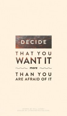 fear quote | Tumblr