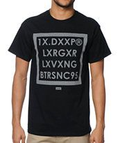 10 Deep Boxed Out Black Tee Shirt
