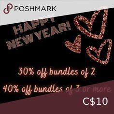 I just added this listing on Poshmark: Happy New Year! 30%- 40% off bundles. #shopmycloset #poshmark #fashion #shopping #style #forsale #Accessories
