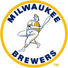 Milwaukee Brewers Primary Logo on Chris Creamer's Sports Logos Page - SportsLogos. A virtual museum of sports logos, uniforms and historical items. Brewer Logo, Sports Team Logos, Nhl Logos, Christian Yelich, Buster Posey, Oakland Athletics, Milwaukee Brewers, Kansas City Royals, Chicago White Sox