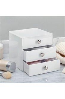 Caixa de arrumação<BR>  3 gavetas