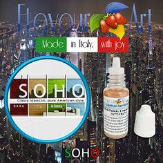 E-Liquide Soho de Flavour Art sur Top Cigarette Electronique