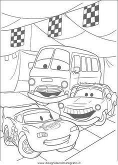 Guarda tutti i disegni da colorare delle Cars www.bambinievacanze.com