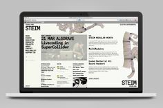 STEIM identity and website, 2011 — icw Remco van Bladel & Micha Bakker