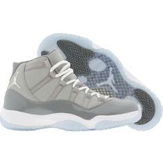 b75698029704 Air Jordan 11 XI Retro Cool Grey (medium grey white cool grey) Shoes (