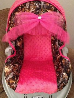 I want this in purple if a girl! Custom Baby Girl Camo Carseat Cover by ElegantBabyRides on Etsy Baby Girl Camo, Camo Baby Stuff, Pheonix Marie, Oakley, Everything Baby, Baby Time, Future Baby, Future Daughter, Daughters