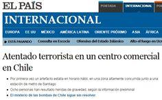 08.09.14: [Fotos] Atentado en Escuela Militar se tomó las portadas del mundo - Cooperativa.cl