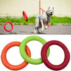 2019 Dog Flying Discs Pet Training Ring Interactive Training Dog Toy Portable Outdoors Large Dog Toys Pet Products Motion Tools  Price: 7.99 & FREE Shipping  #pets|#petcare|#petaccessories|#cutepets