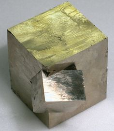 Pyrite cube / Mineral Friends <3.   Mama!!!