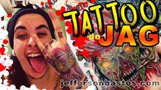 Tattoo Caveira - Skull (#02 Wagner Jag)