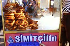 Simit cart | Istanbul, Turkey