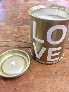 Kit velas Love & Paris Cococnut Crie & Decor - CRIEDECOR