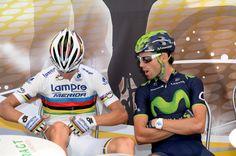Rui Costa, Alejandro Valverde, Tour de France, 2014, stage 11, pic: Sirotti
