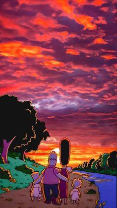 TOP 34 Pantalla Fondos for the Simpsons for the Dispositiv Sad Wallpaper, Wallpaper Iphone Cute, Tumblr Wallpaper, Aesthetic Iphone Wallpaper, Screen Wallpaper, Aesthetic Wallpapers, Wallpaper Backgrounds, Simpsons Wallpaper Iphone, Cartoon Wallpaper