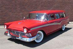 Ford Classic Cars, Best Classic Cars, Car Ford, Ford Trucks, Rio Ranch, Pontiac Star Chief, 1957 Chevy Bel Air, Woody Wagon, Red Wagon