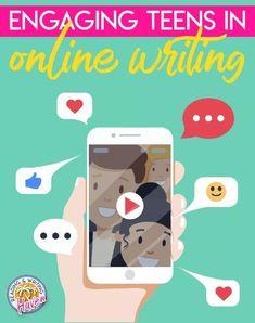 Strategies for engaging teens in online writing #MiddleSchoolELA #HighSchoolELA #OnlineWriting Writing Lessons, Writing Resources, Teaching Writing, Student Teaching, In Writing, Middle School Ela, Middle School English, Conclusion Paragraph, English Language Arts