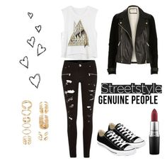 Untitled #10 by fckedlover on Polyvore featuring polyvore, fashion, style, River Island, Converse, Forever 21 and MAC Cosmetics