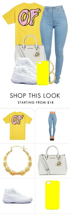 """""""10:12:14"""" by codeineweeknds ❤ liked on Polyvore featuring ODD FUTURE, MICHAEL Michael Kors, Retrò and Jagger Edge"""