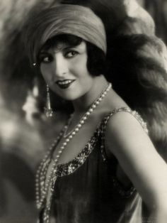 1920's Flapper Lucy Doraine was a Hungarian movie star for the silent era. She made about 24 films from 1918-1931.
