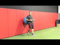 Functionally Fit: Single leg ball squats   Magazine Archives   Fit Pro
