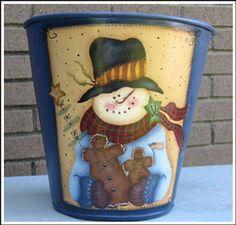 Sap Bucket meets Snowman