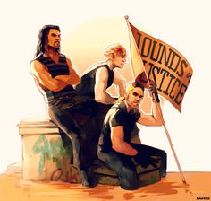 WWE: The Shield by student-yuuto.deviantart.com on @DeviantArt