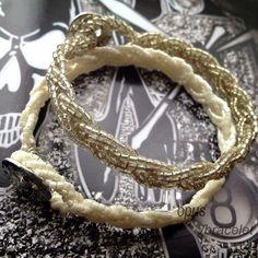 beads blade bracelet