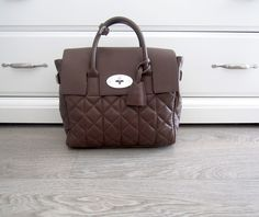 MULBERRY Mini Cara Delevingne Bag Delevingne Taupe Quilted Lamb Nappa 100%  Authentic