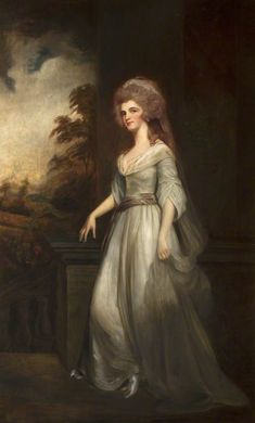 Eleanor,Countess of Lauderdale. After George Romney × 145 cm.Eleanor Todd daughter of Anthony Todd, in 1782 married James Maitland, Earl of Lauderdale. Royal Academy Of Arts, Rococo Style, Art Database, Art Uk, Portraits, Great Artists, Lady, 18th Century, Louis Xvi