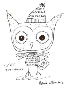 owl by Mels Williamson