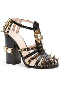 Gucci 'Kendall' Ankle Strap Pump (Women) available at #Nordstrom