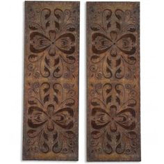 Uttermost - 13643 - Alexia Wall Panels (Set of 2) @ Lamps.com