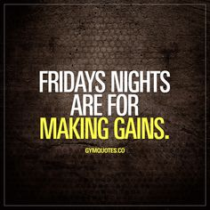 Friday nights are for #makinggains  Oh yes they are!  #gains #training #gymmotivation #gymlife #fitfam