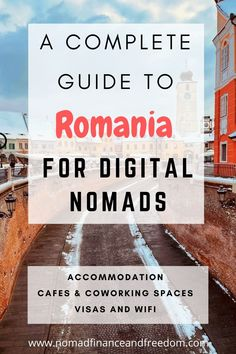 Find out why Romania is perfect for remote workers and freelancers! Here is everything you to need to know about daily life, coworking, cafes, & accommodation. Ways To Travel, Work Travel, Travel Tips, New Business Ideas, Online Business, Online Side Jobs, Make Money Now, Online Entrepreneur, Digital Nomad