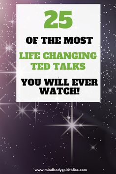 Looking for some TED Talks that will change your life? This is the best collection of inspirational TED Talks you will ever come by. Staying motivated isn't always easy. If you need help getting motivated, I'm sharing 25 motivational TED talks that will inspire you and change your life! #tedtalk #motivation #inspiration #thatwillchangeyourlife #productivity #mbsb