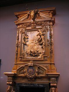 Elaborate Fireplace (Top)
