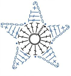Tinker Tinker Craft: Crochet Star Ornament for your Christmas Tree - Schnuller Plaid Au Crochet, Crochet Bows, Crochet Diy, Crochet Stars, Crochet Gifts, Crochet Motif, Crochet Doilies, Crochet Flowers, Crochet Stitches