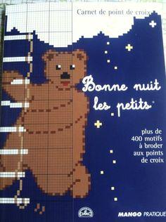 Mango French Cross Stitch Book DMC Point de Croix Kids Bonne Nuit Les Petits   eBay