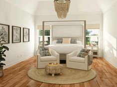 Today, we're showing you what you can do with a 20×15 bedroom layout. Large Bedroom Layout, Master Bedroom Layout, Bedroom Layouts, Bedroom Ideas, Furniture Layout, Furniture Arrangement, Large Furniture, Bedroom Furniture, Furniture Makeover