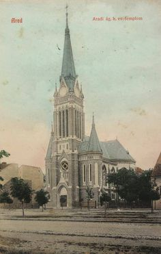 Arad, Romania Old Postcards, Cathedrals, Old Photos, Barcelona Cathedral, Taj Mahal, Country, Building, Places, Travel