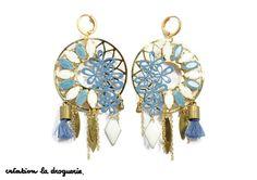 Des BO originales aux couleurs de l'océan. #ladroguerie #bijoux #bo