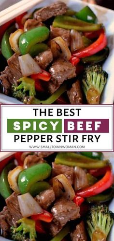 The Best Spicy Beef Pepper Stir Fry perfect for din&; The Best Spicy Beef Pepper Stir Fry perfect for din&; Adeline Beer dessert-recipes The Best Spicy Beef Pepper Stir […] healthy stir fry Easy Meat Recipes, Stir Fry Recipes, Lunch Recipes, Asian Recipes, Dinner Recipes, Easy Meals, Cooking Recipes, Healthy Recipes, Dinner Ideas
