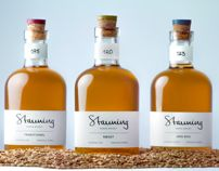 Stauning whisky by Kasper Skov, via Behance Simple and pure Cool Packaging, Print Packaging, Product Packaging, Label Design, Branding Design, Package Design, Graphic Design, Whisky, New Nordic