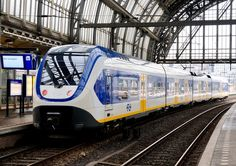 Bombardier Sprinter Lighttrain from 425 series in Amsterdam Centraal Railway Station in The Netherlands